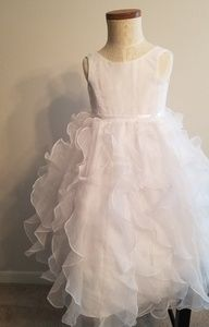 David's Bridal Special Occasion Flower Girl Dress